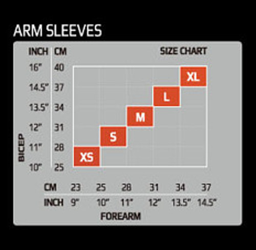 2XU サイズ表